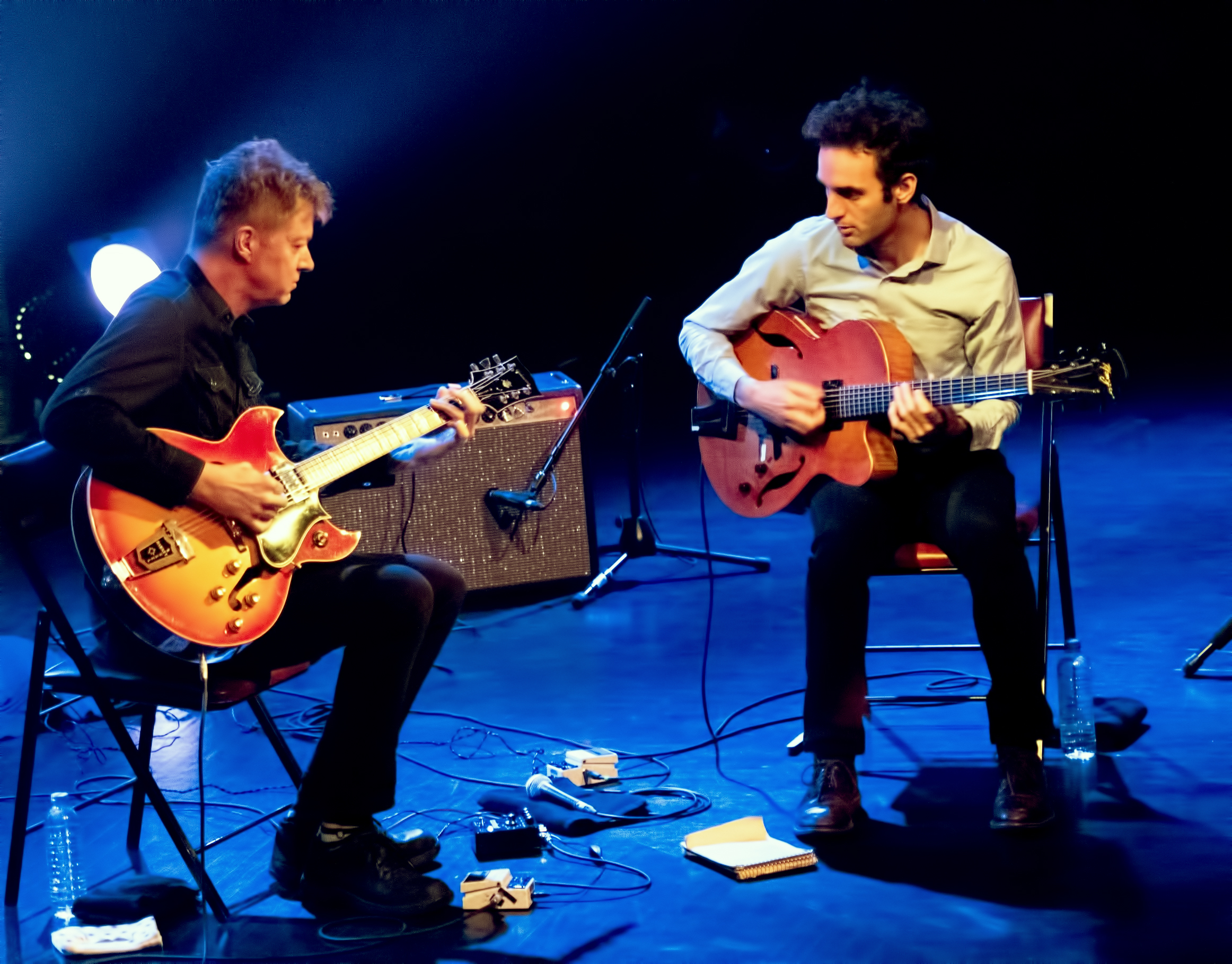 Nels Cline and Julian Lage at the Montreal Jazz Festival 2015