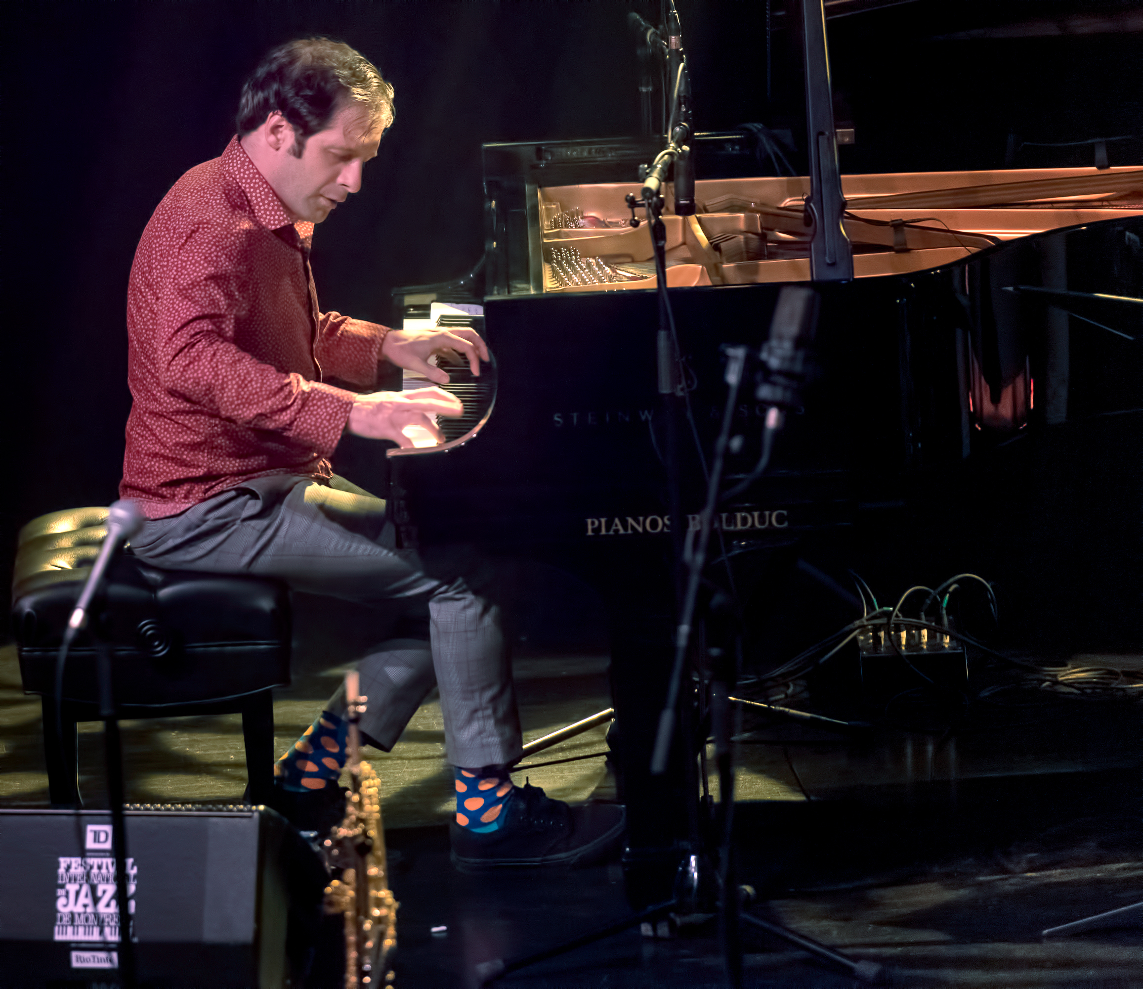 Ivo Neame With Marius Neset At The Montreal International Jazz Festival 2018