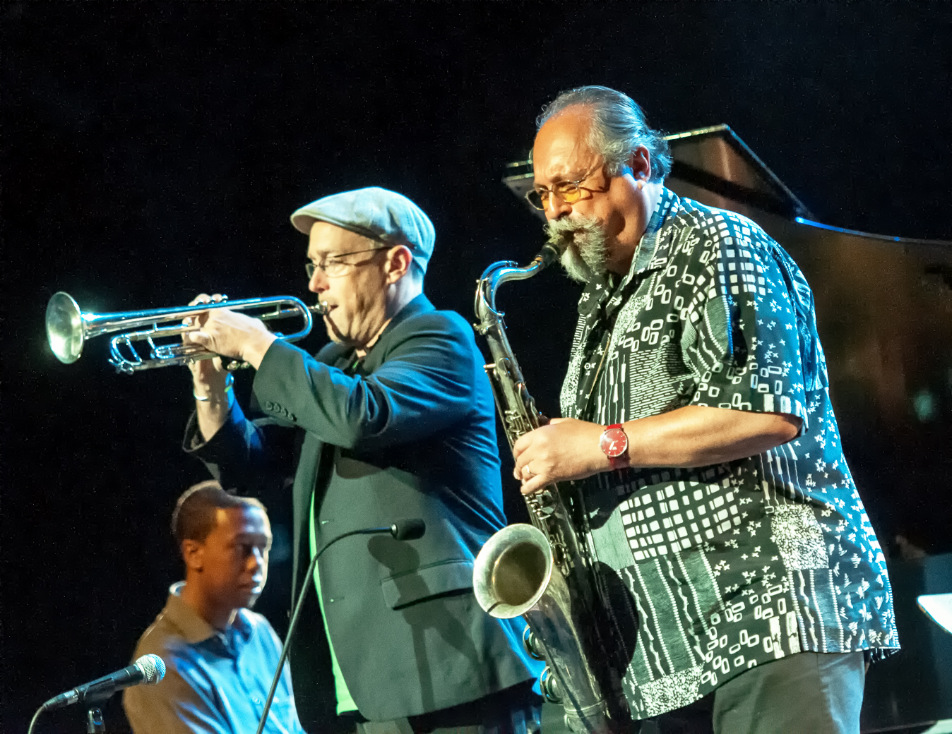 Dave douglas and joe lovano with sound prints at the montreal international jazz festival 2013