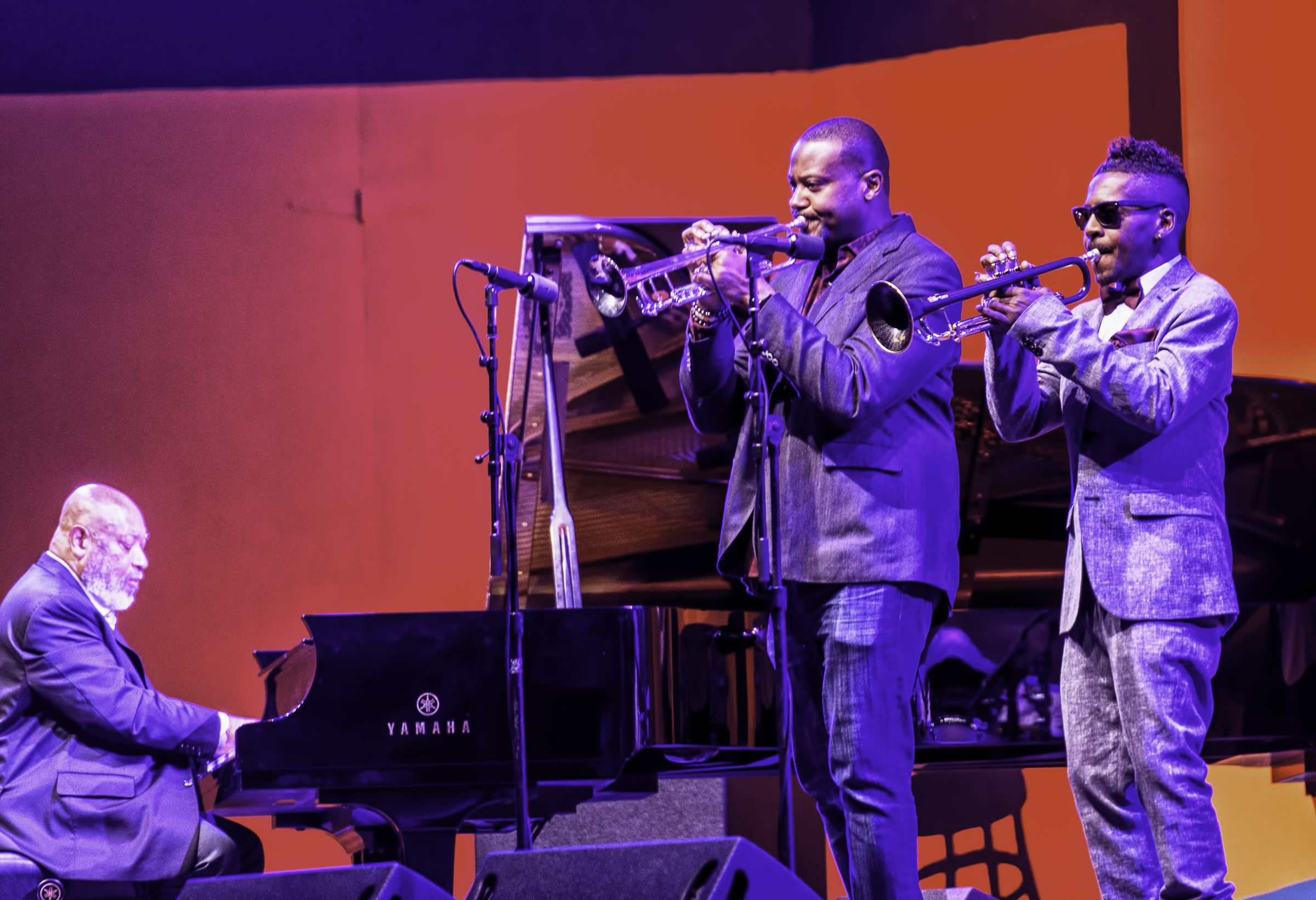 Kenny Baron, Sean Jones and Roy Hargrove with Kenny Baron's Tribute to Dizzy at 100 at the Monterey Jazz Festival