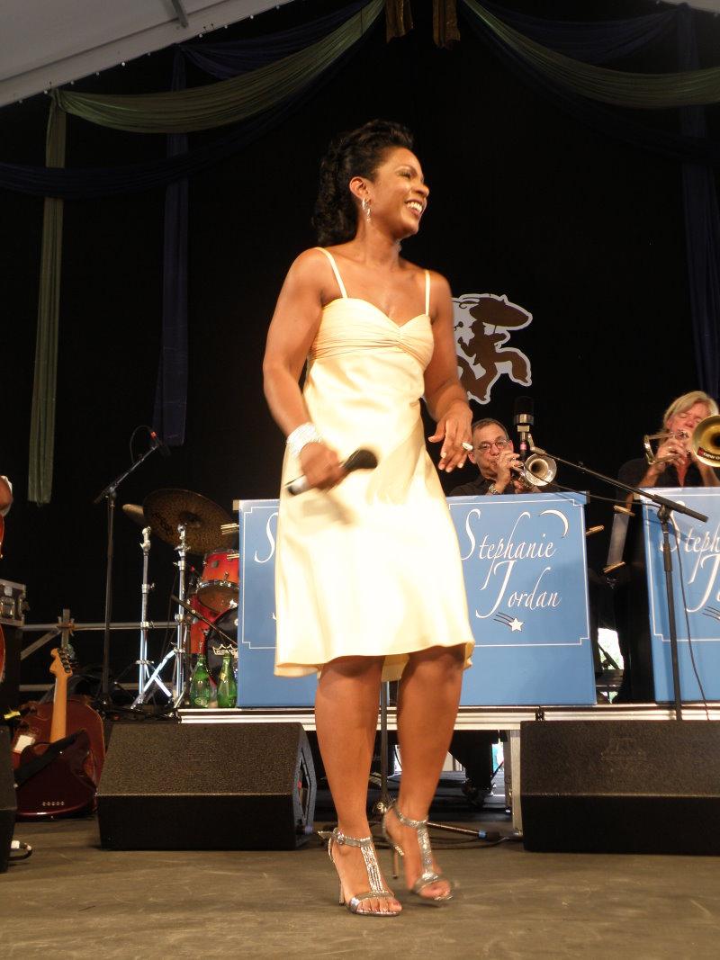 "Stephanie Jordan Sings ""A Tribute to Lena Horne"" - 2009 N.O. Jazzfest"