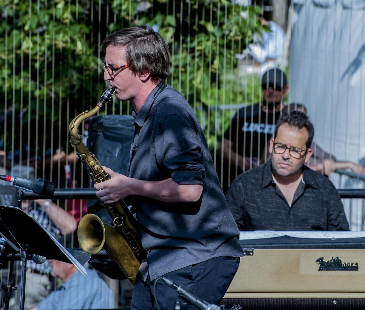 Jeff La Rochelle & Manuel Valera - Roberto Occhipinti Quintet - Toronto Jazz Festival 2017 - Toronto