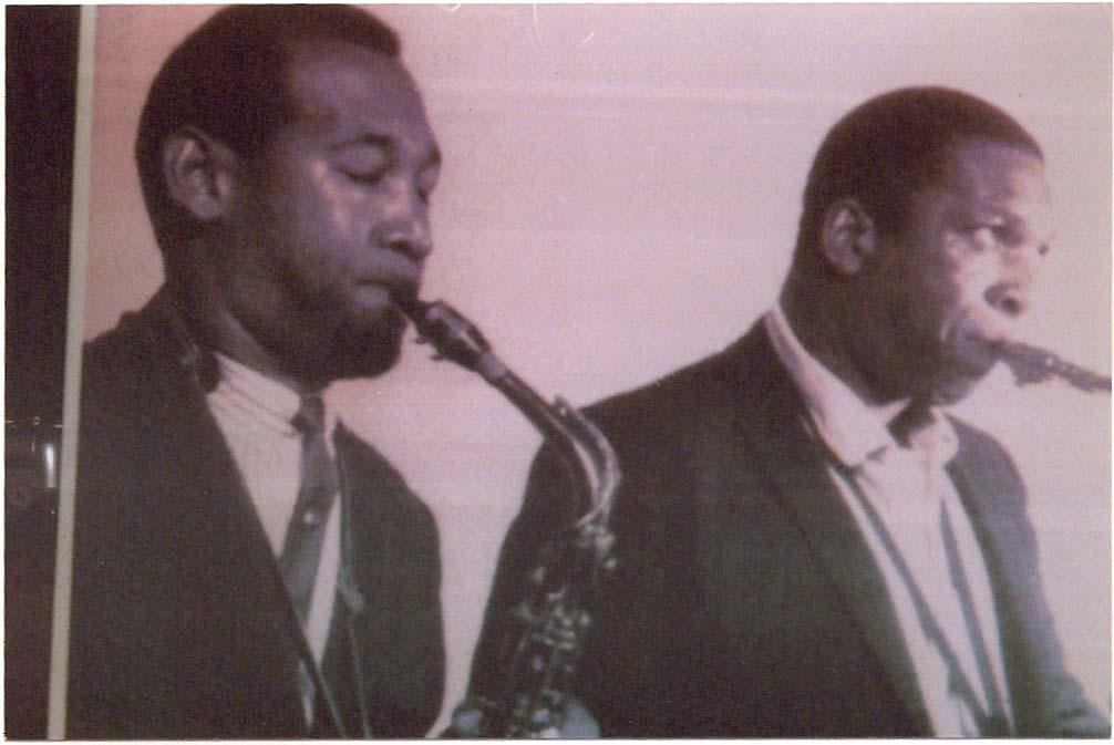 John Coltrane and Byron Pope