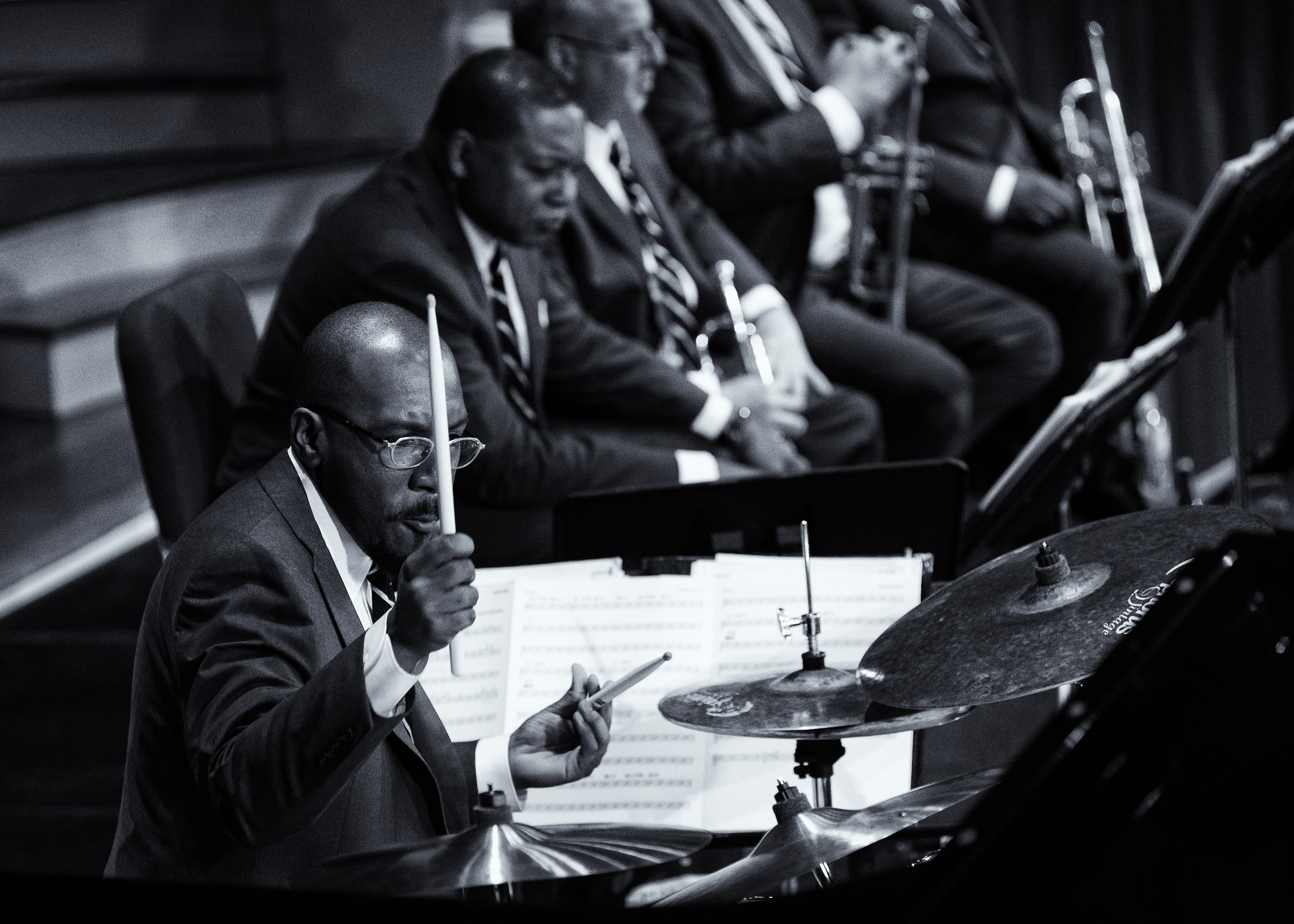Ali Jackson: Jazz At Lincoln Center Orchestra With Wynton Marsalis