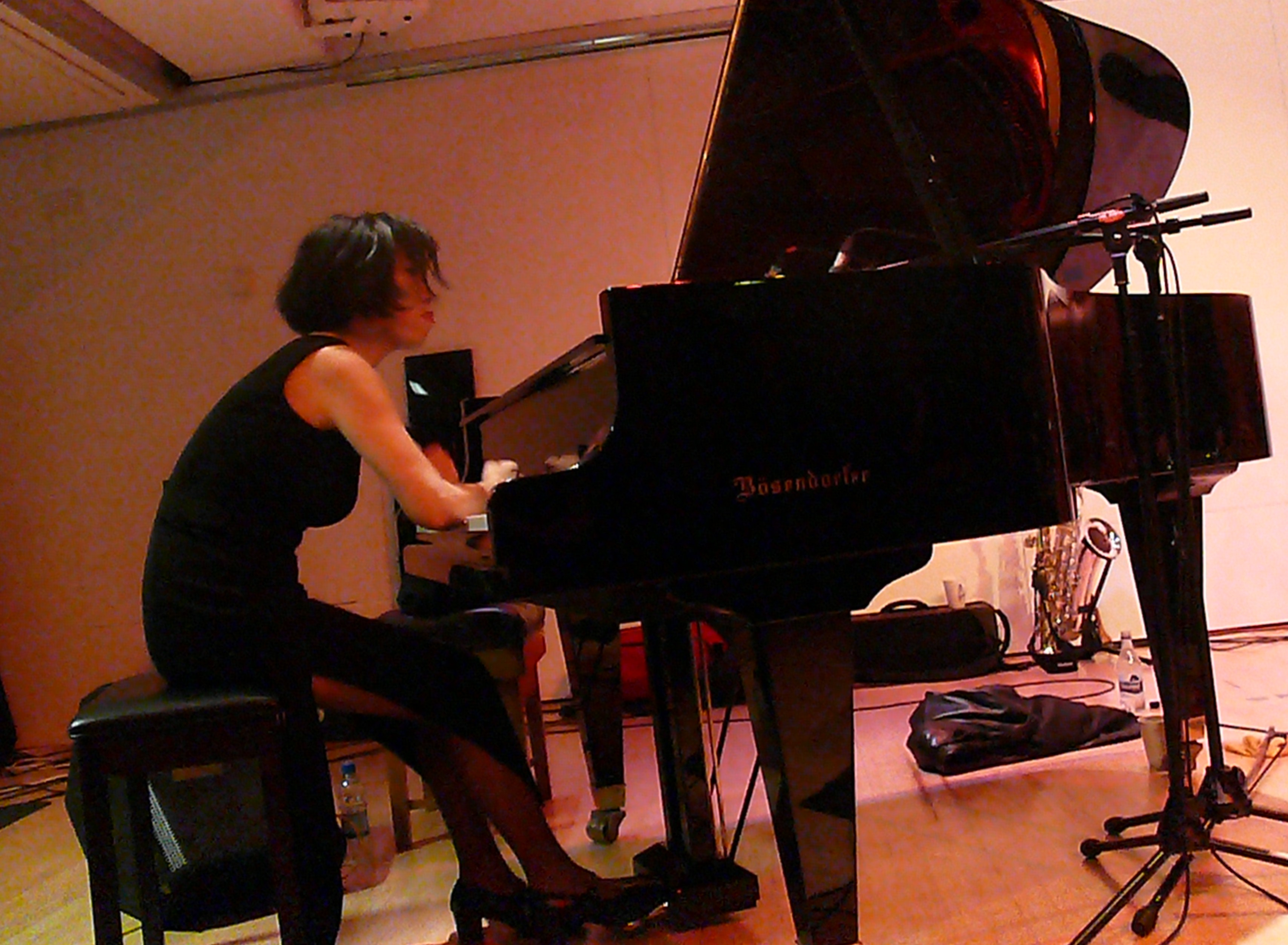 Aki Takase at Leicester Arts Centre in October 2010