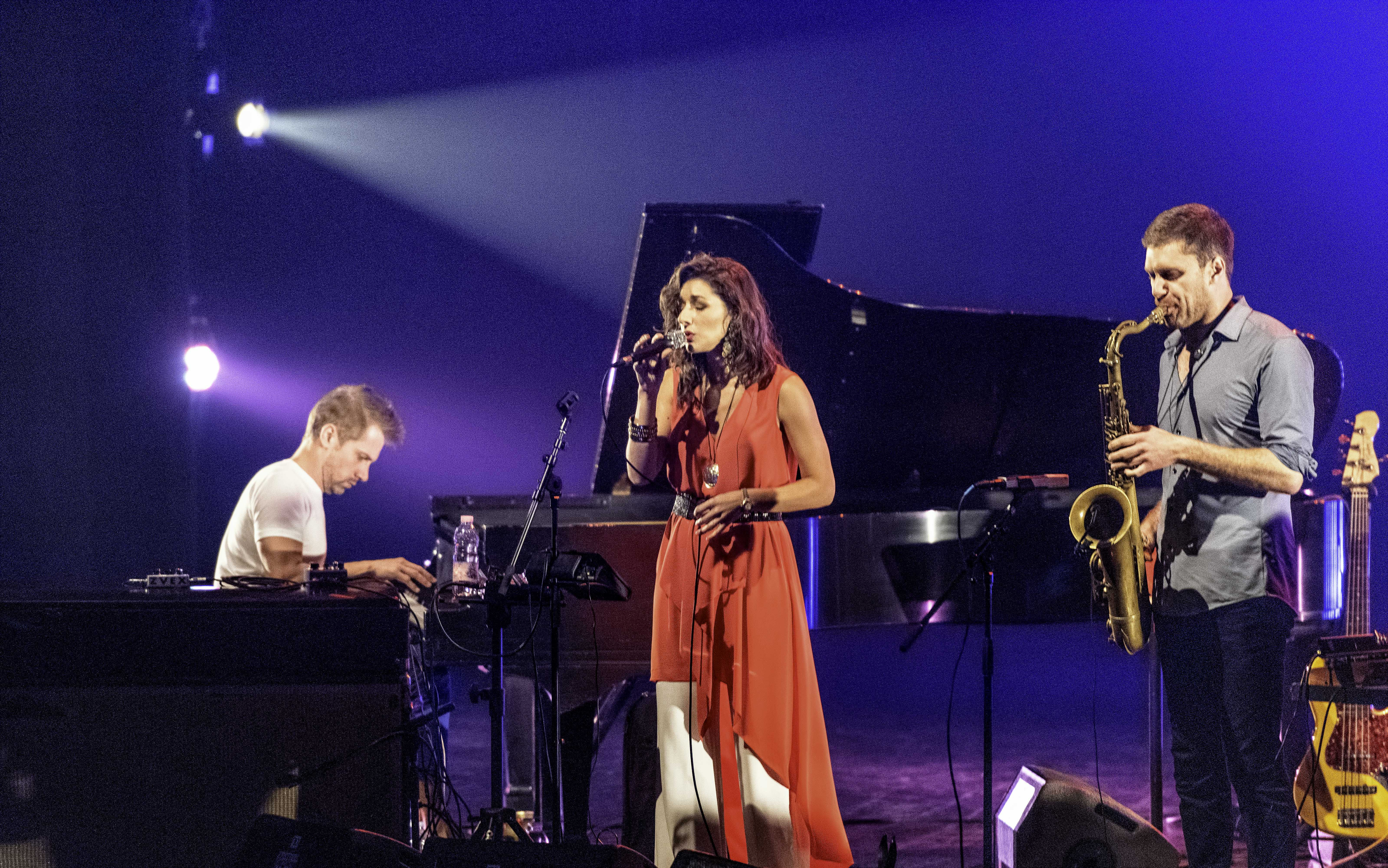 John Escreet, Thana Alexa, and Chase Baird with Antonio Sanchez and Migration At The Montreal International Jazz Festival 2019