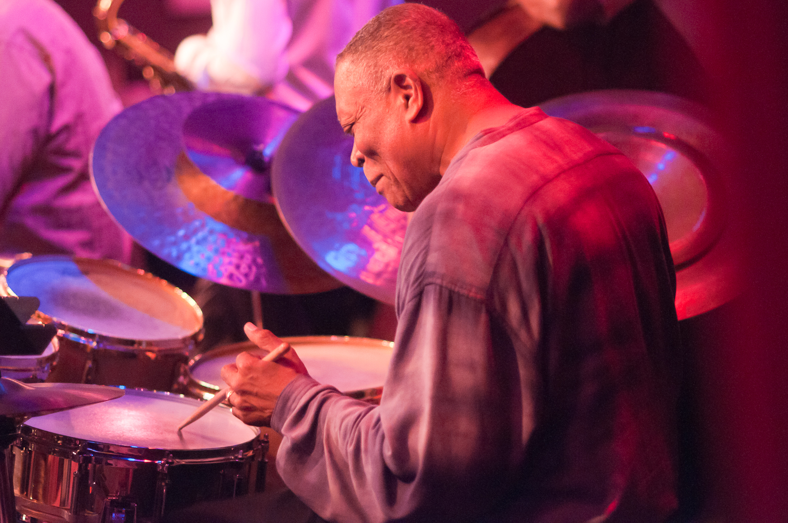 Billy Hart with Saxophone Summit