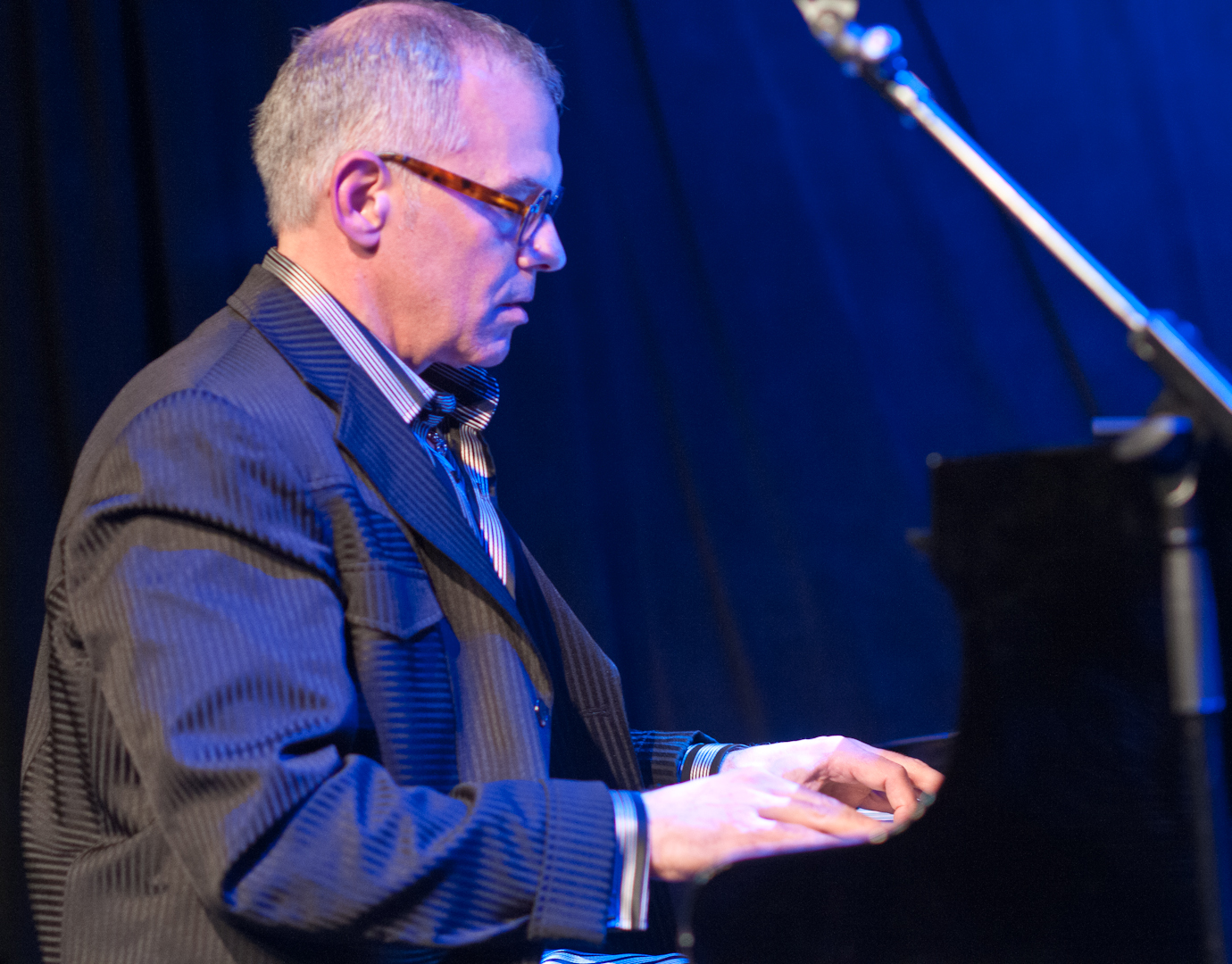 Laurence Hobgood at the Winter Jazzfest 2012