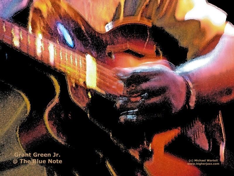 Grant Green Jr. Guitar Explosion