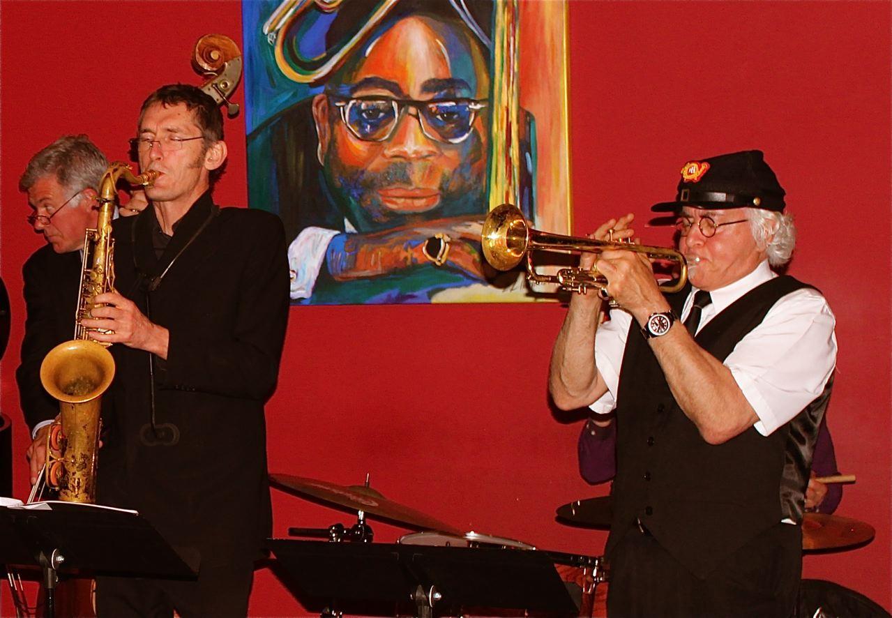 At Dizzy's Jazz Club