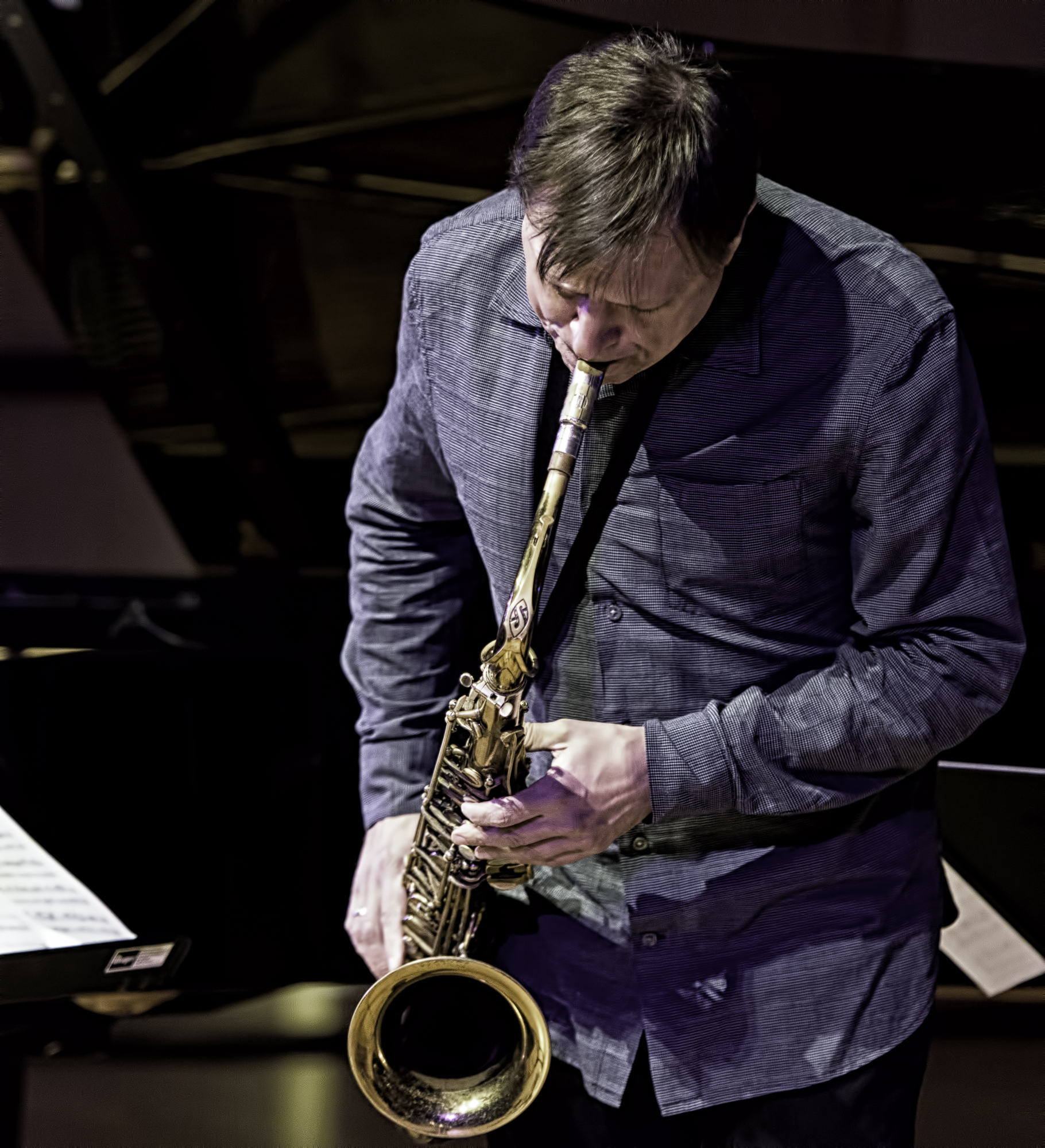 Chris Potter with Quartet At The NYC Winter Jazzfest 2016