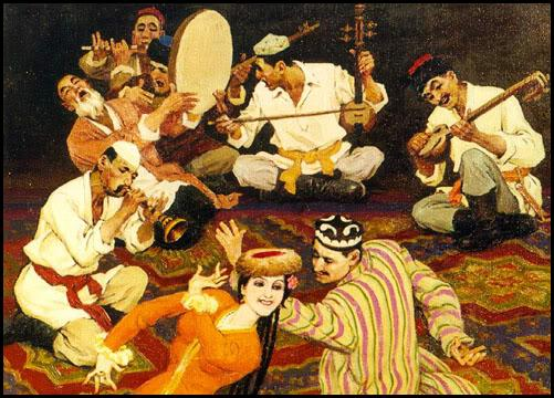 Arabic Folk Music Instruments and Musicians