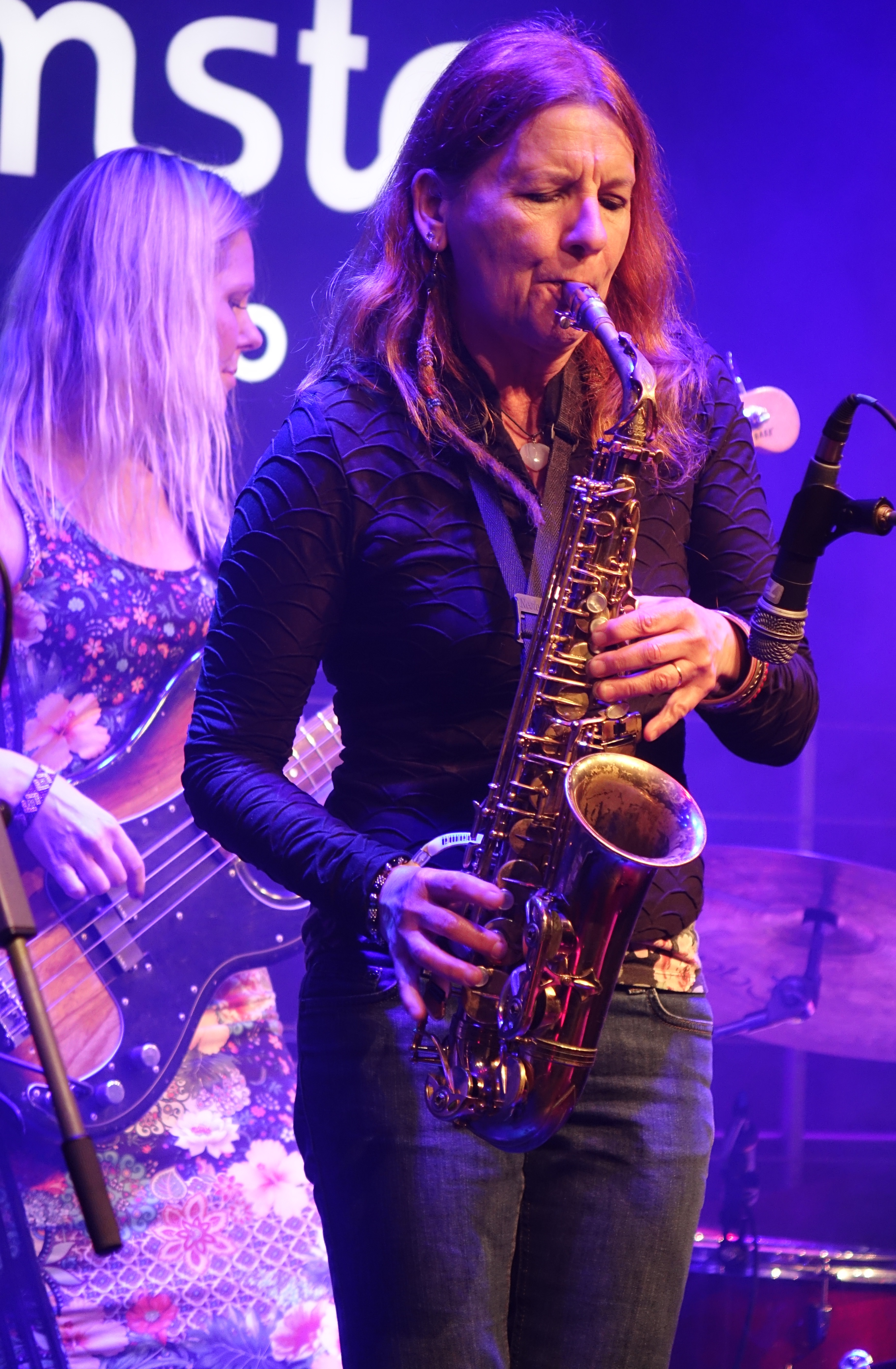 Biggi Vinkeloe at Vilnius Mama Jazz Festival in November 2017
