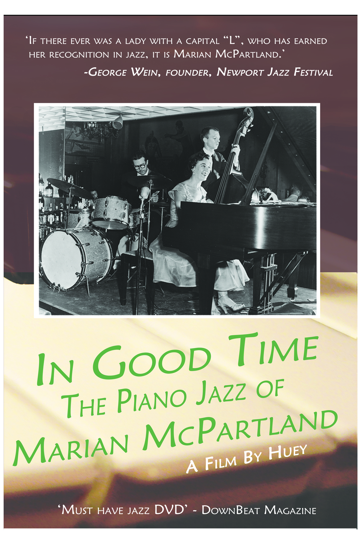 In Good Time, the Piano Jazz of Marian McPartland, DVD