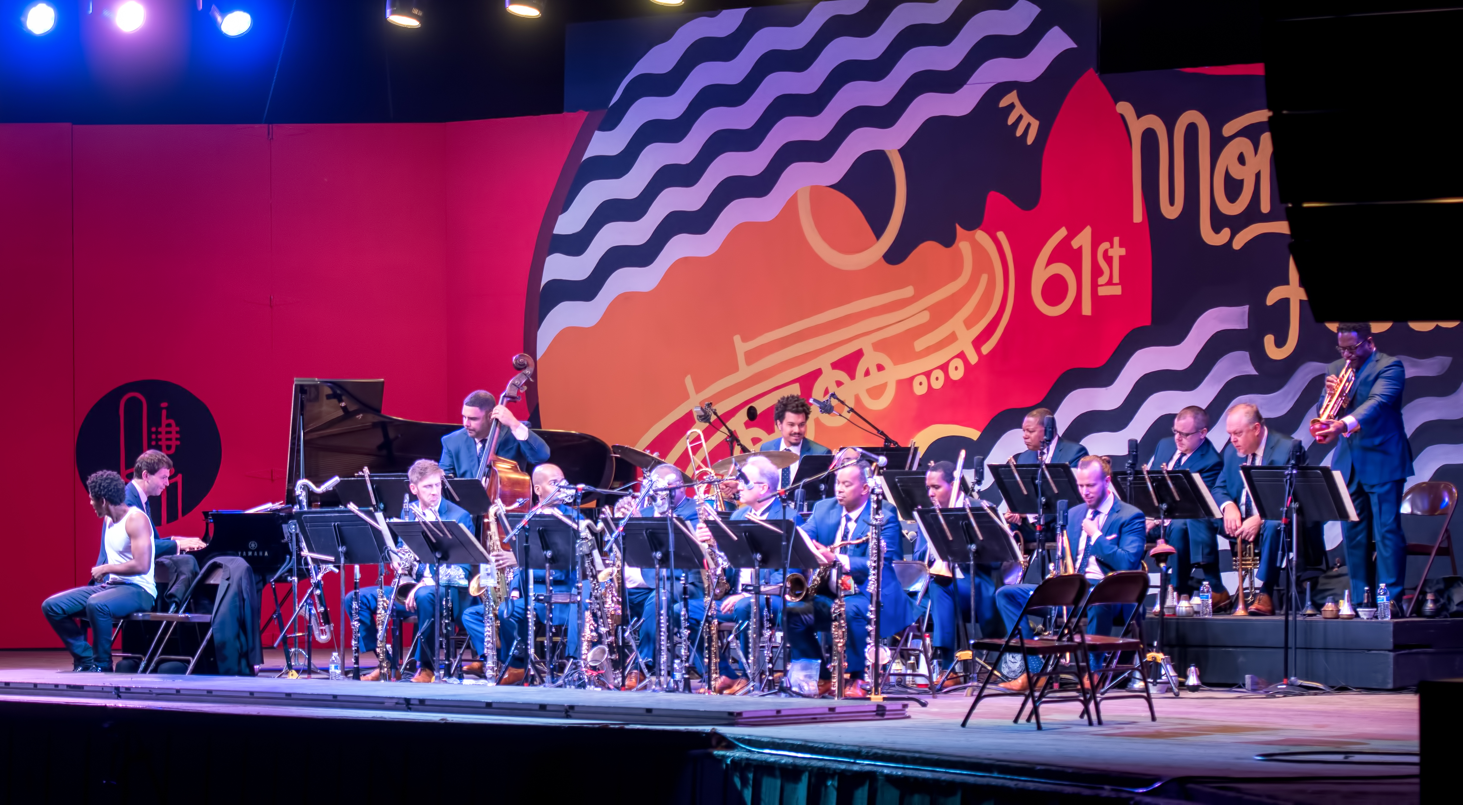 Jazz at Lincoln Center Orchestra, dave kaufman, monterey jazz festival, monterey ca, monterey jazz festival 2018, mjf2018dkjw