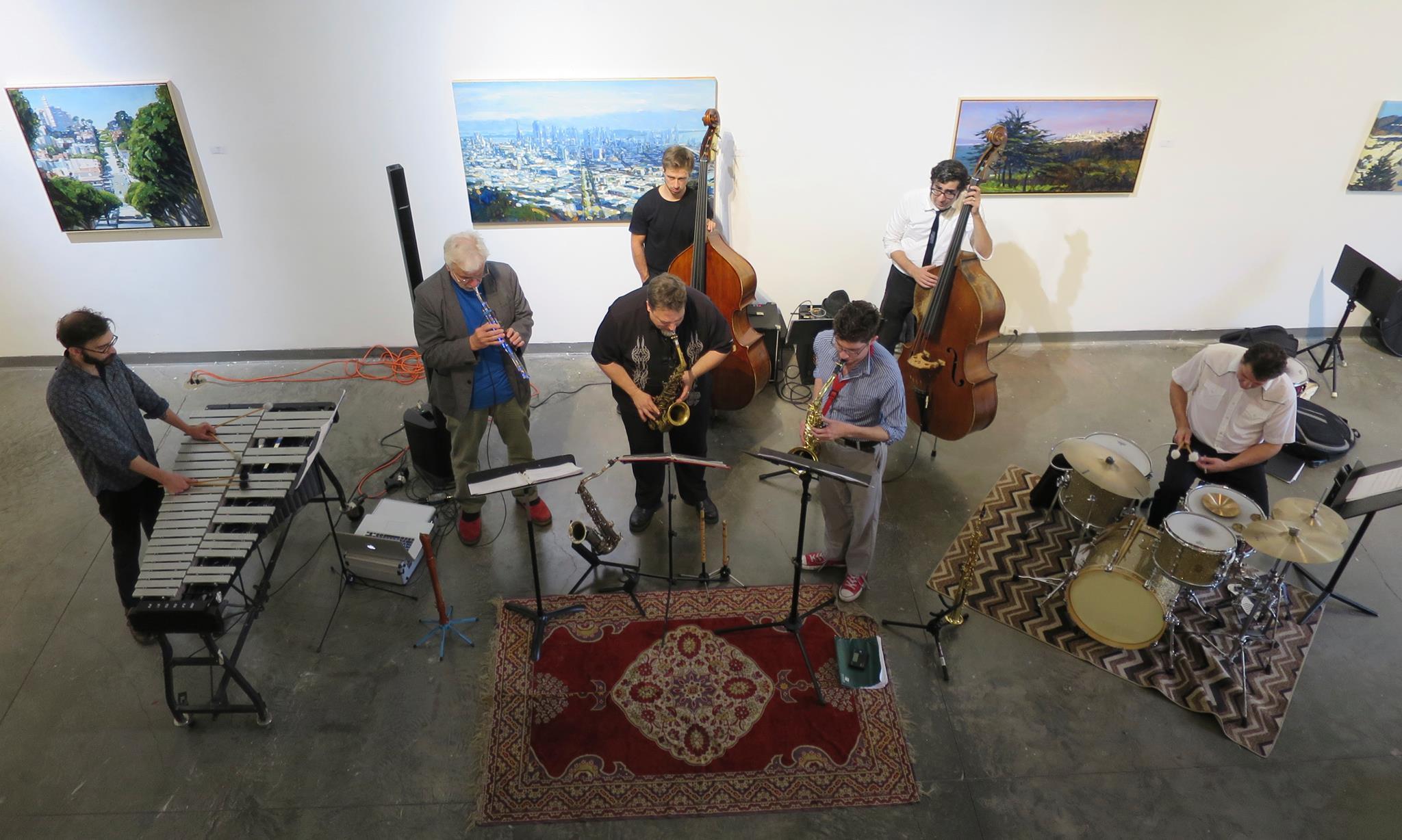 Rent Romus' Life's Blood Ensemble, Brown Slusser Duo