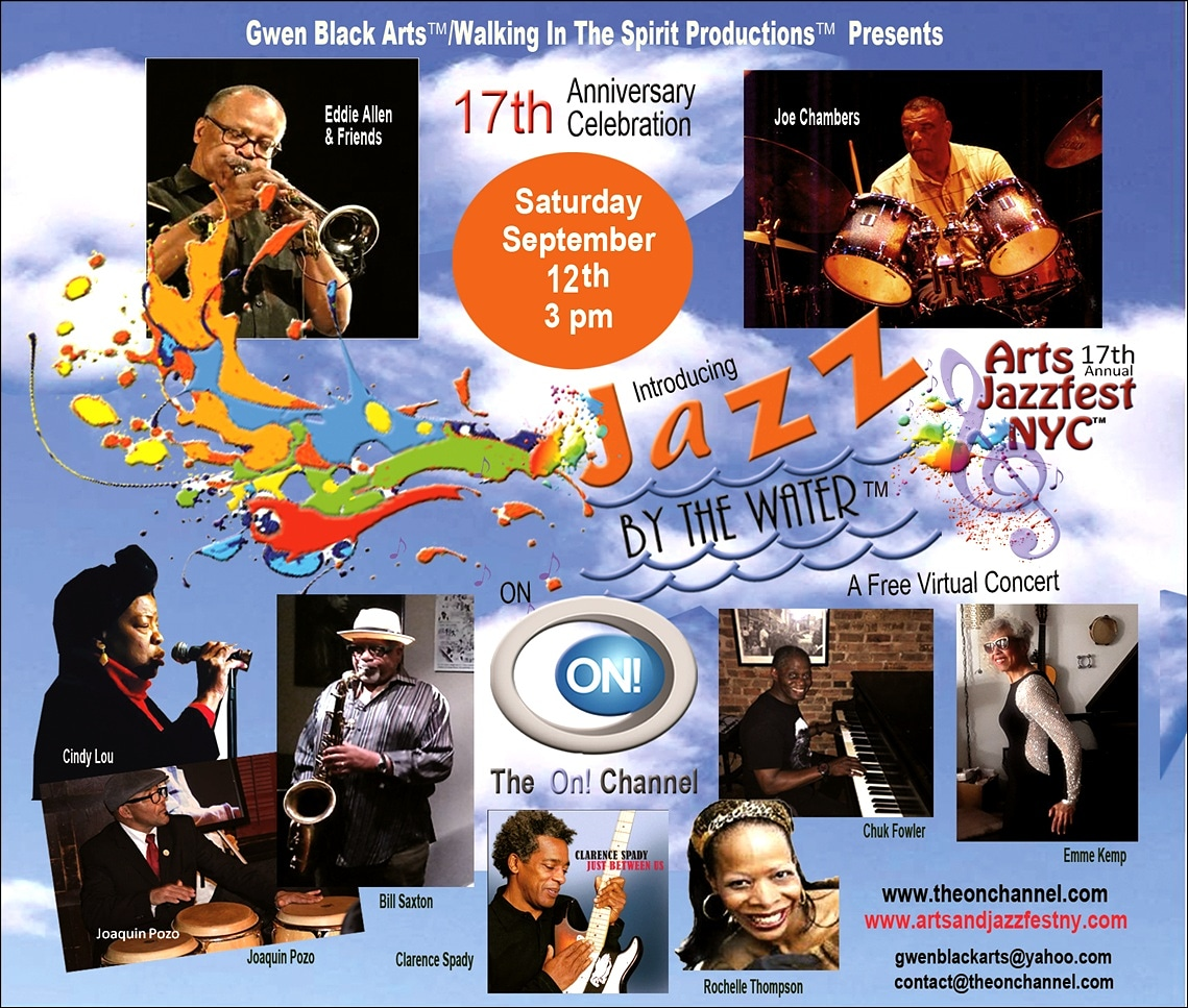 Jazz By The Water™ A Virtual Concert Live from the Triad Theater on The On Channel