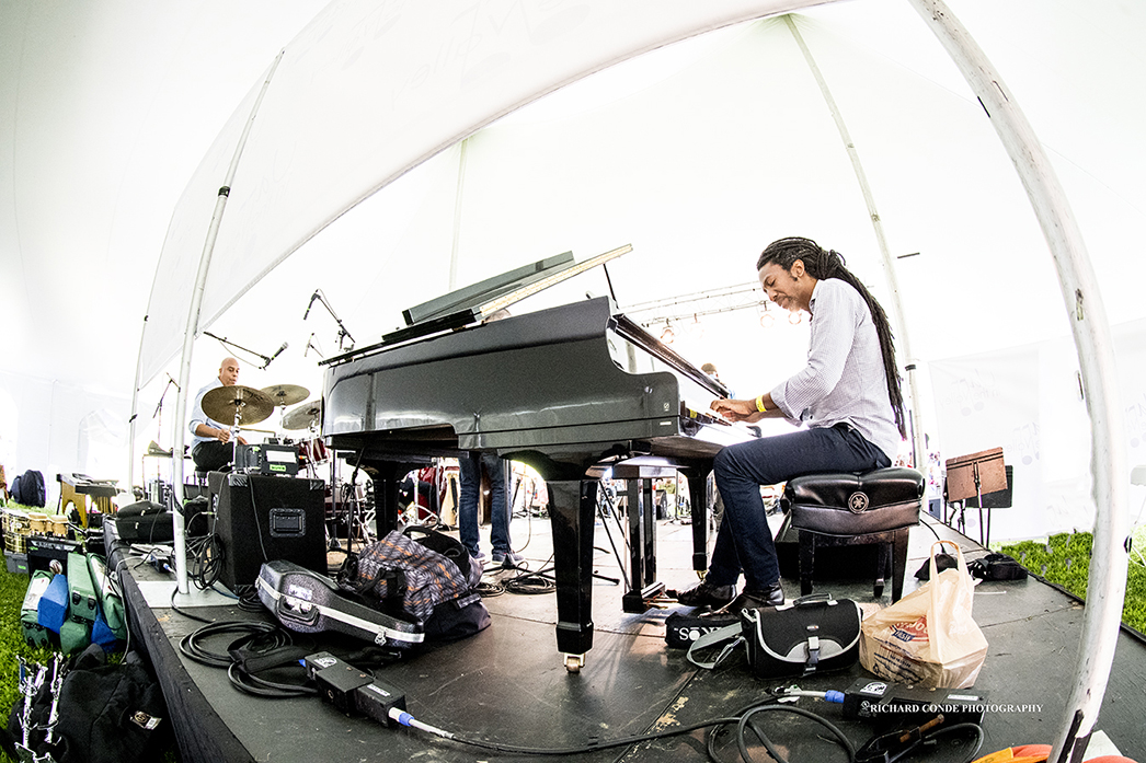 Elio Villafranca at the Jazz in the Valley Jazz Festival