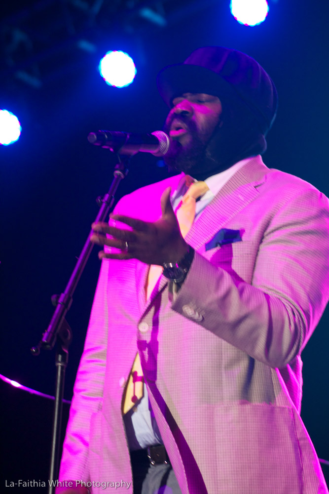 Gregory Porter At The Sixth Annual John Coltrane International Jazz And Blues Festival