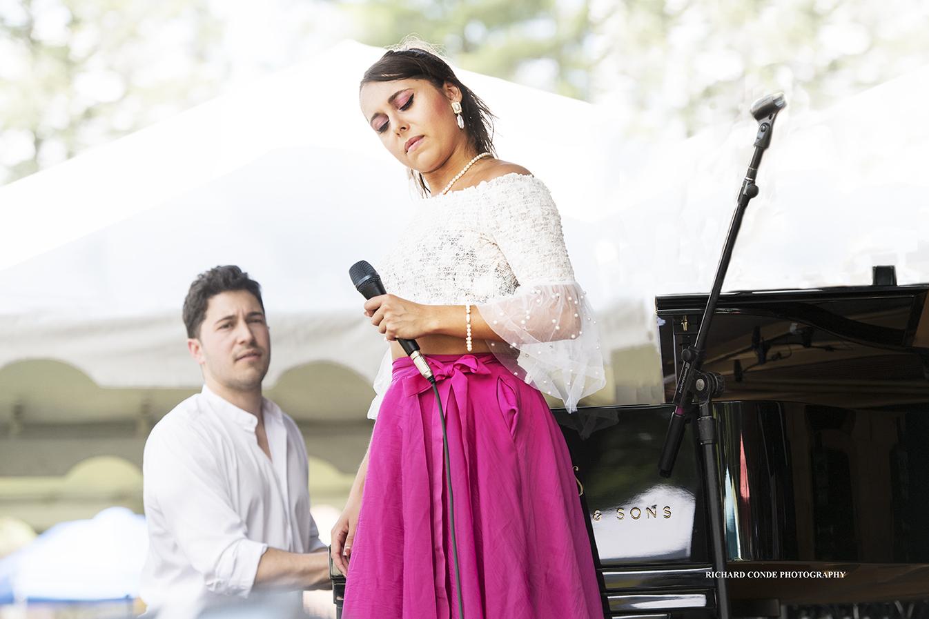Veronica Swift at the Saratoga Jazz Festival