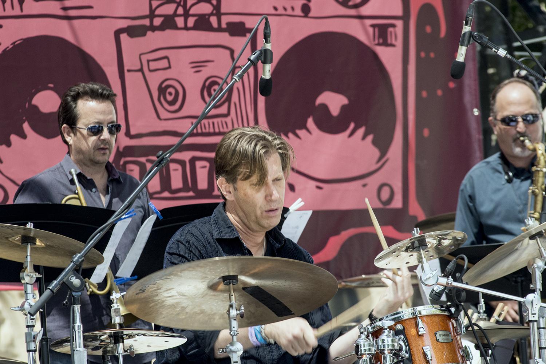 Tommy Igoe at San Jose Jazz Summer Fest 2017