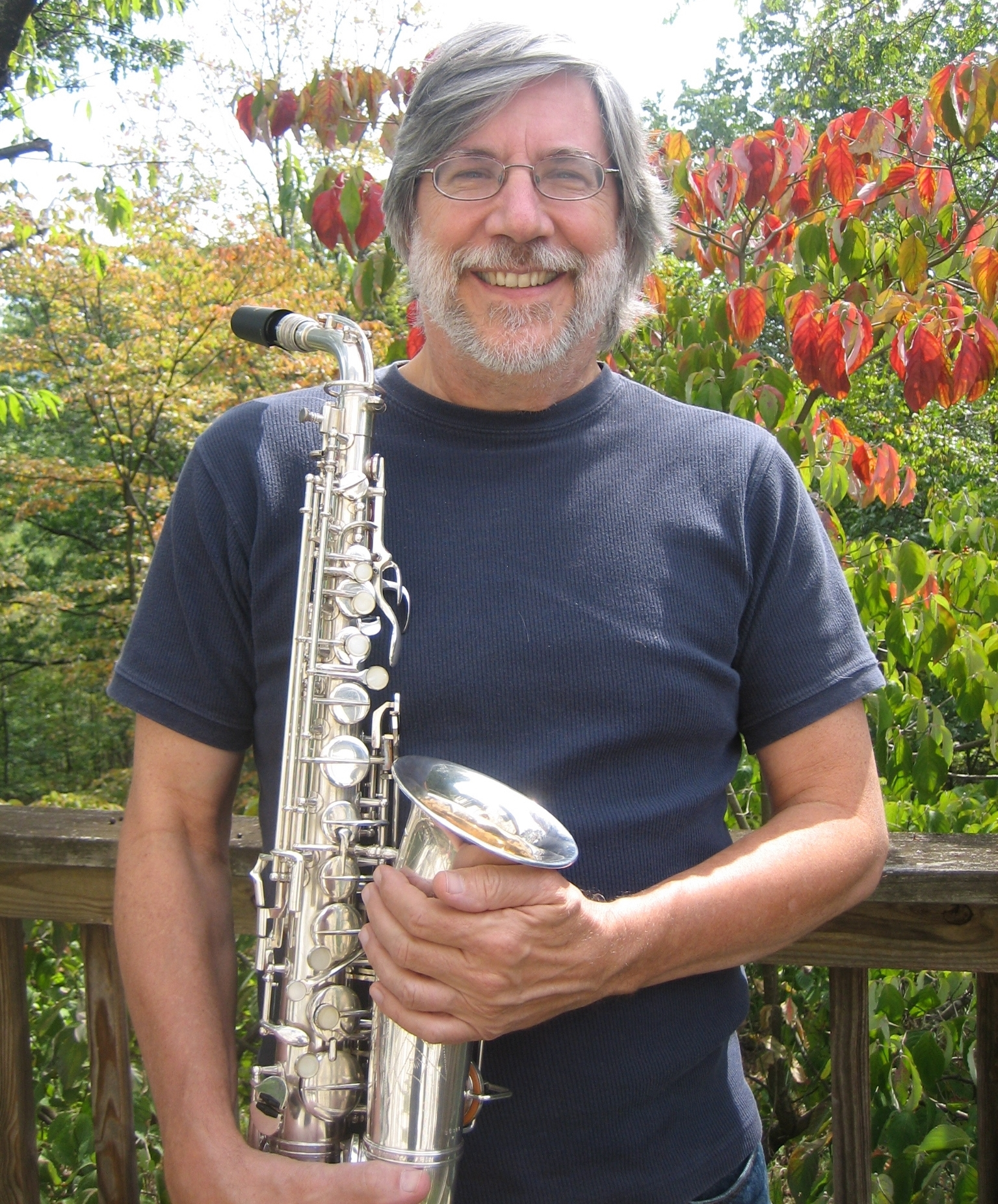 Roger with 1936 g.h. Huller Alto Sax