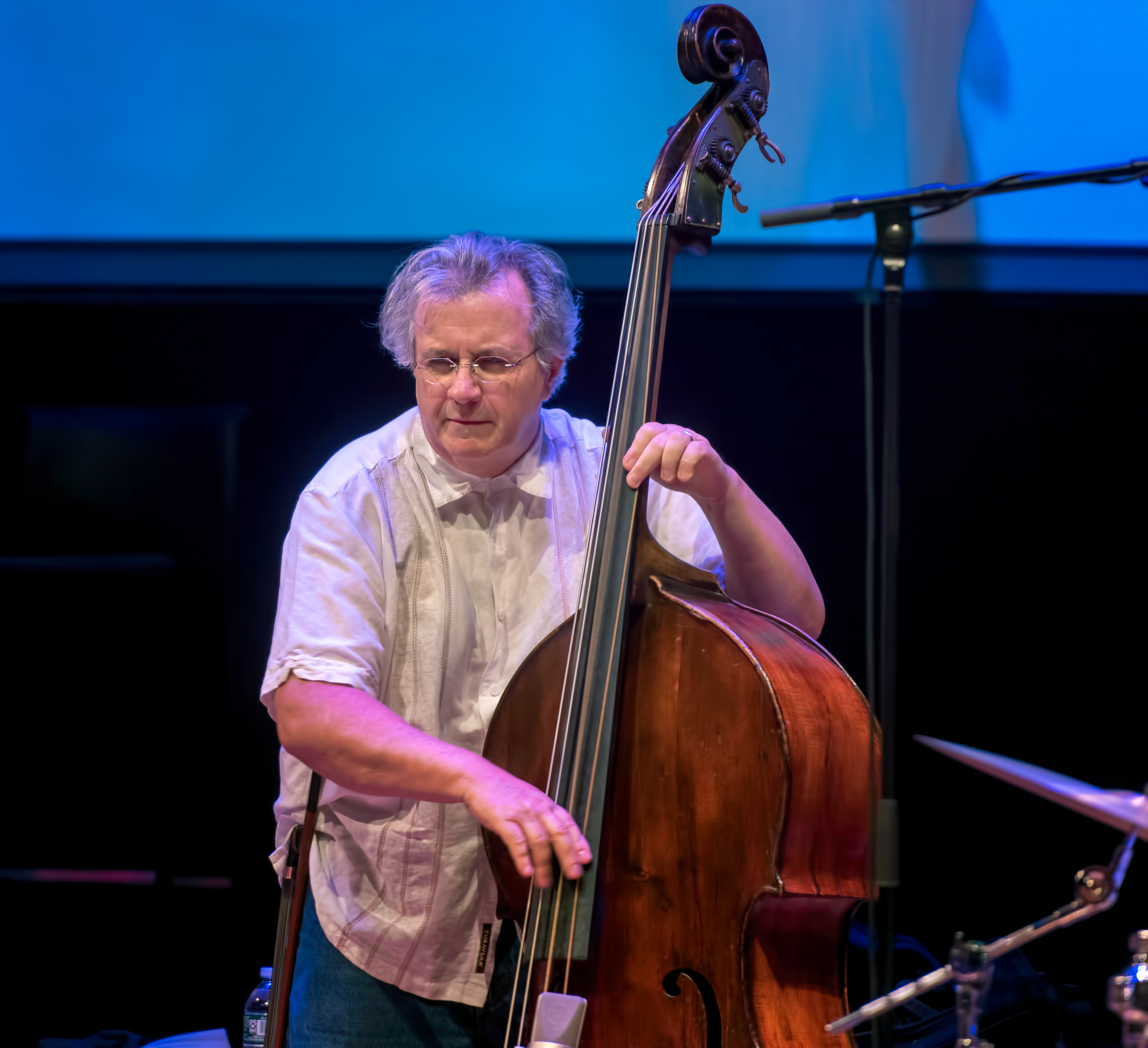 Michael Bisio with the Whit Dickey Trio At the Vision Festival 2018