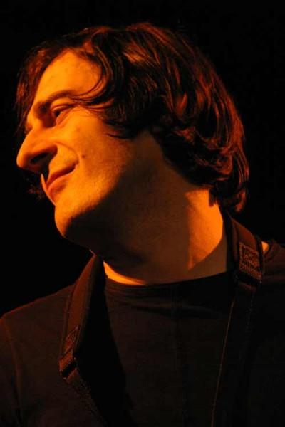 "Francesco Berzatti with ""Aldo Romano - Because of Bechet"" at Amr, Sud Des Alpes, Geneva, Switzerland, 2005"