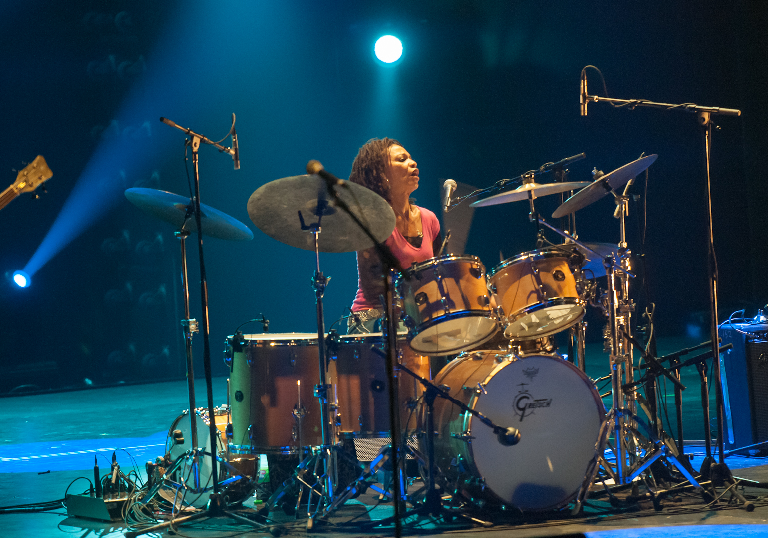 Cindy Blackman with Spectrum Road at Montreal Jazz Festival 2012