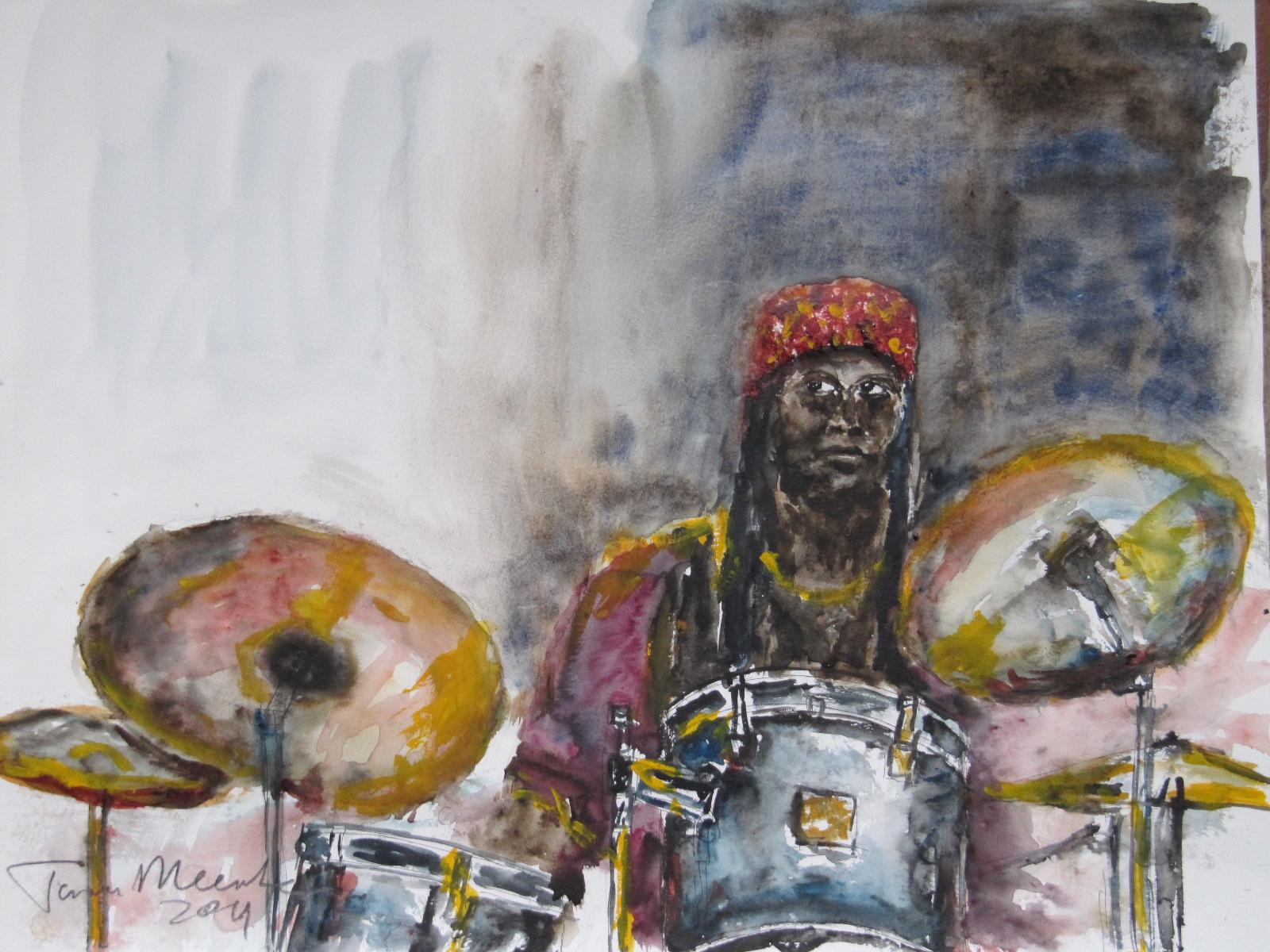 Hamid Drake Junas Jazz Festival 2011