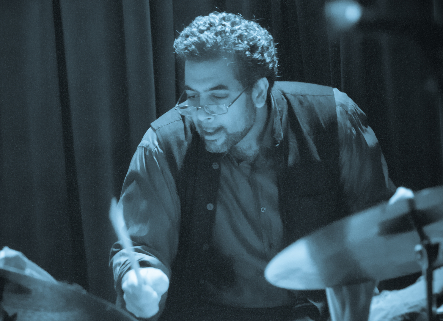 Sameer Gupta with Marc Cary Focus Trio at Smoke Jazz Club