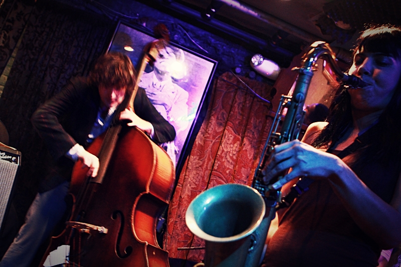Melissa Aldana and Spencer Murphy, Smalls Jazz Club