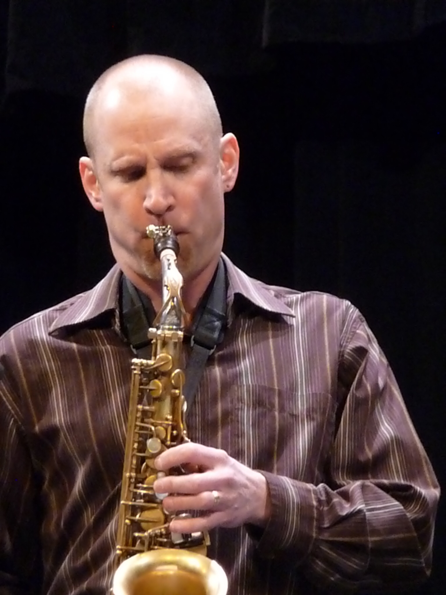 Bobby Selvaggio at 2011 Lakeland Jazz Festival