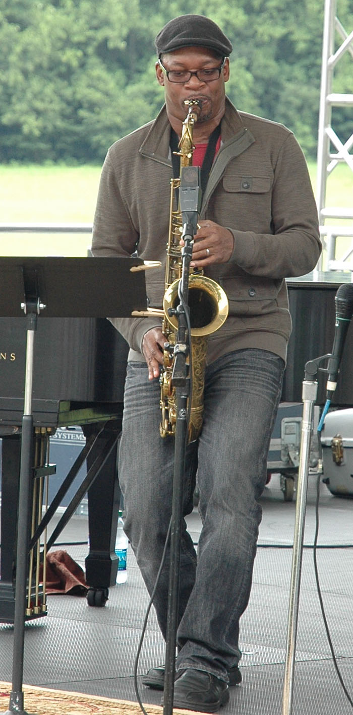 Ravi Coltrane at Longwood Gardens Wine and Jazz Festival 2011