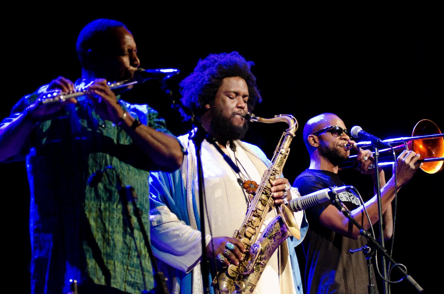Rickey Washington, Kamasi Washington, & Ryan Porter