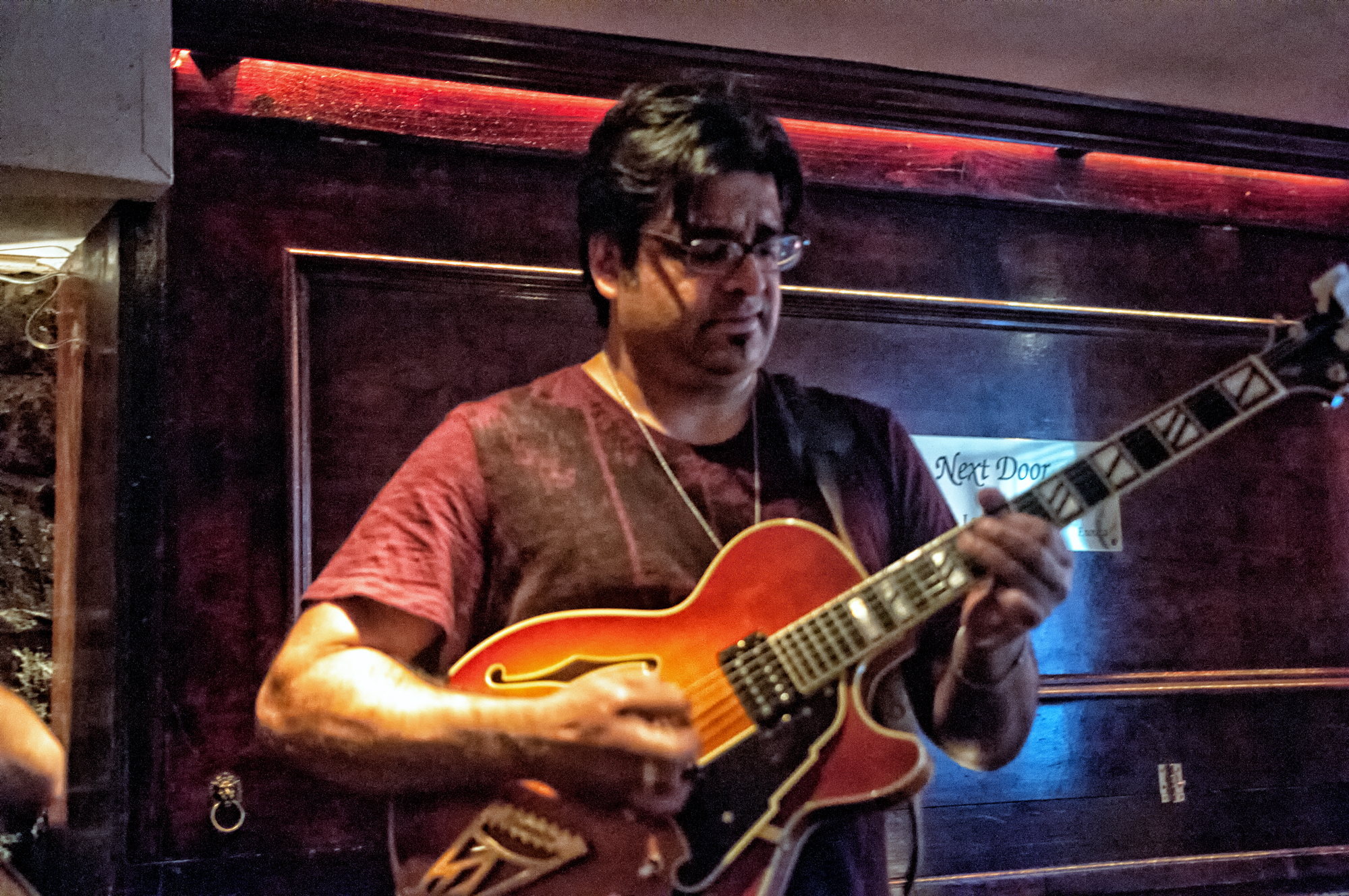 Rez Abbasi with Trio at the Bar Next Door in New York City