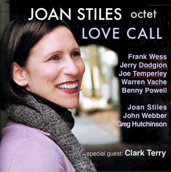 """Joan Stiles' 'Love Call"""" CD Cover"""