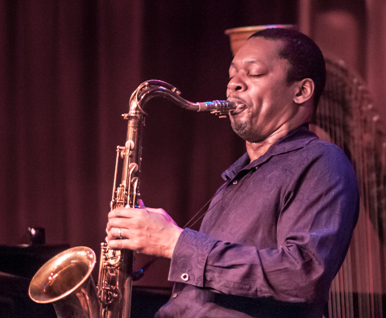 Ravi Coltrane with Quartet at Birdland