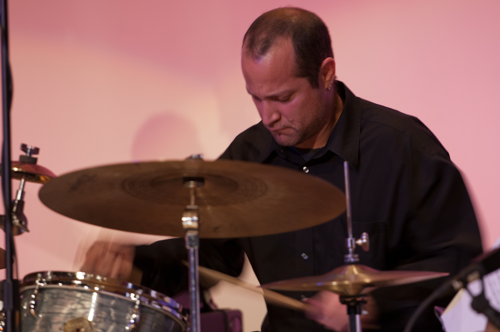 Pablo Bencid with the Either/Orchestra at the New School for Jazz