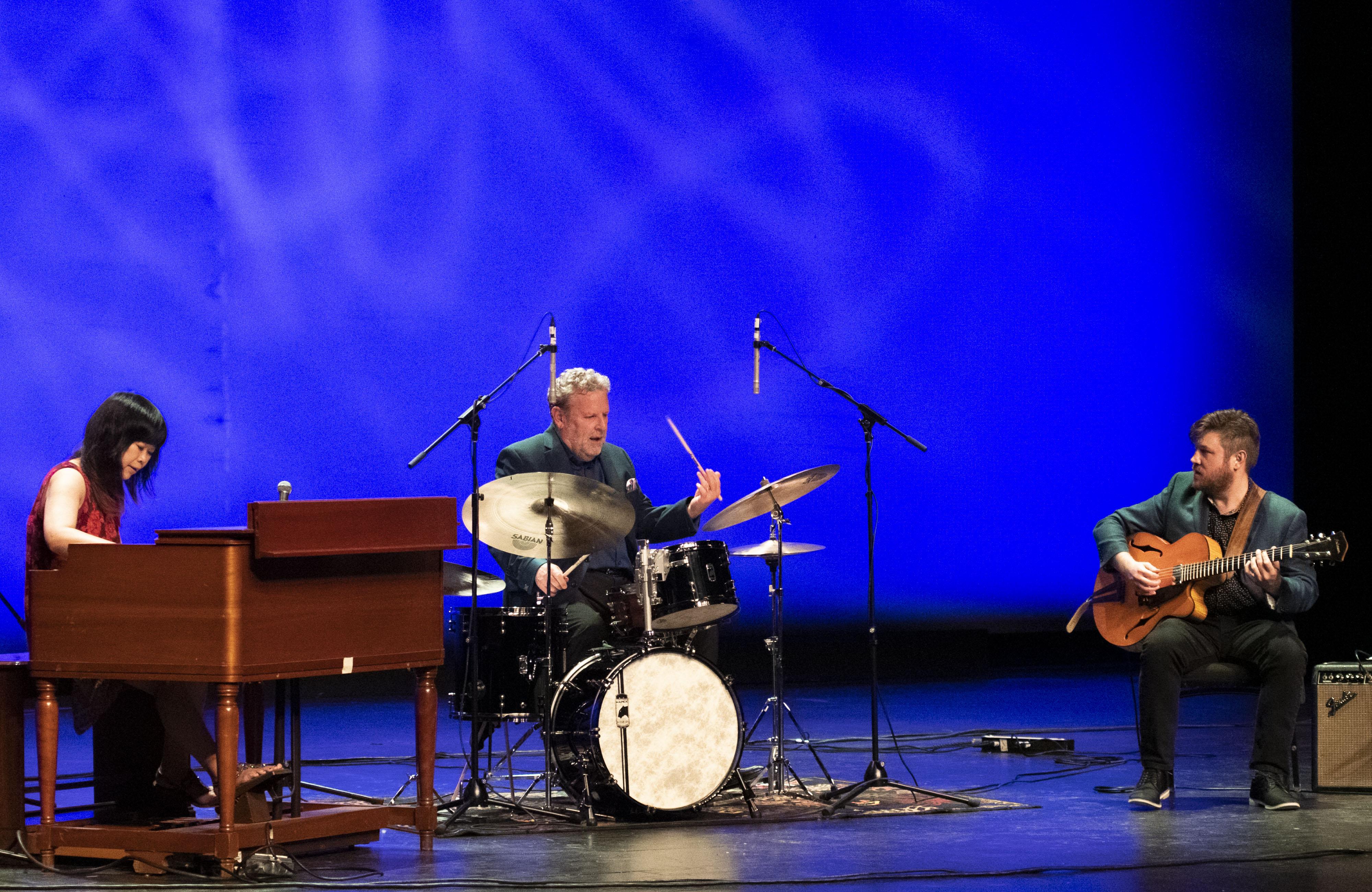 Akiko Tsuruga, Jeff Hamilton, and Graham Dechter