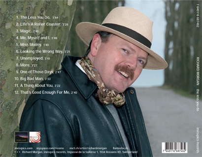 'The Less You Do' Album Back Cover