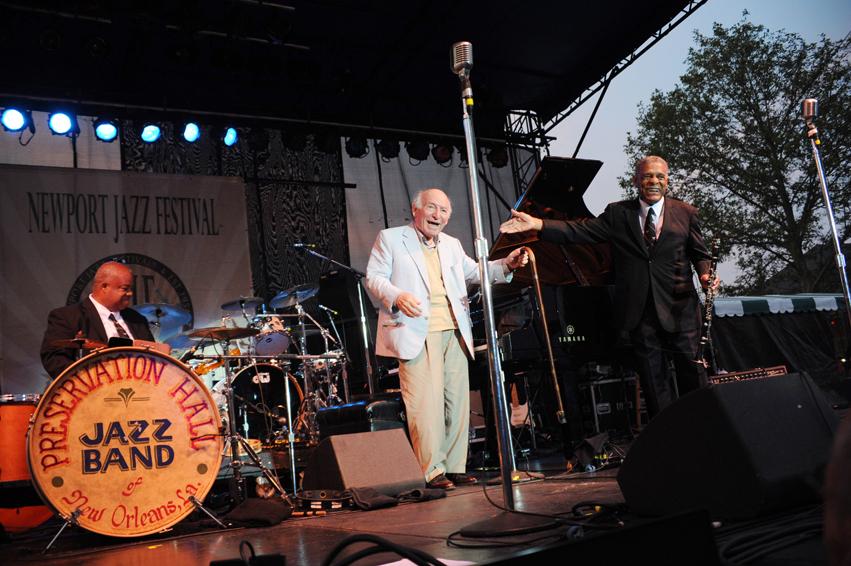 George Wein Newport Jazz Festival 2012