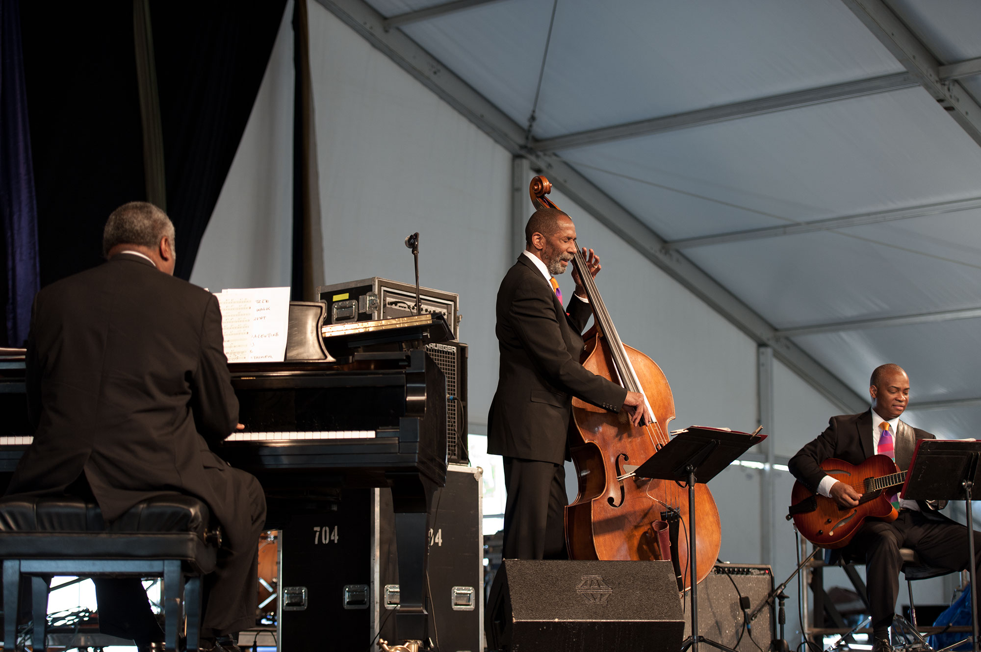 Mulgrew Miller, Ron Carter and Russell Malone