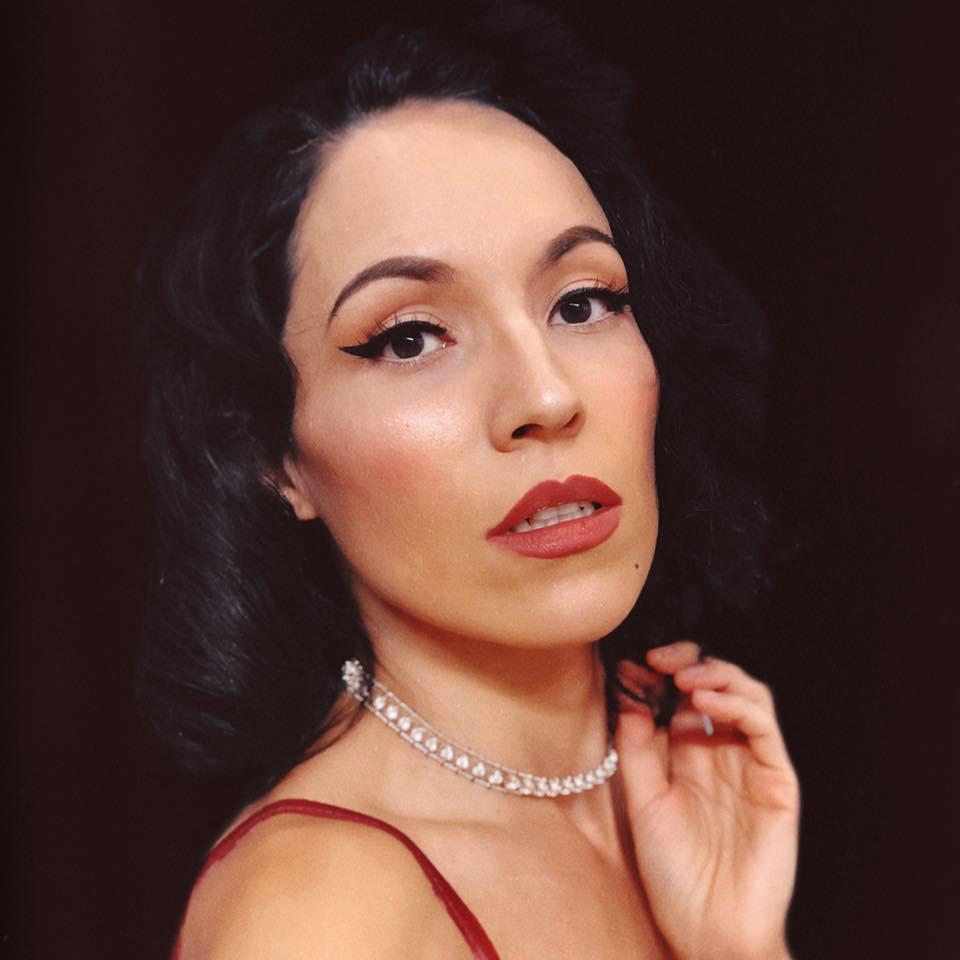 Portrait of Jazz Vocalist Jackie Lopez