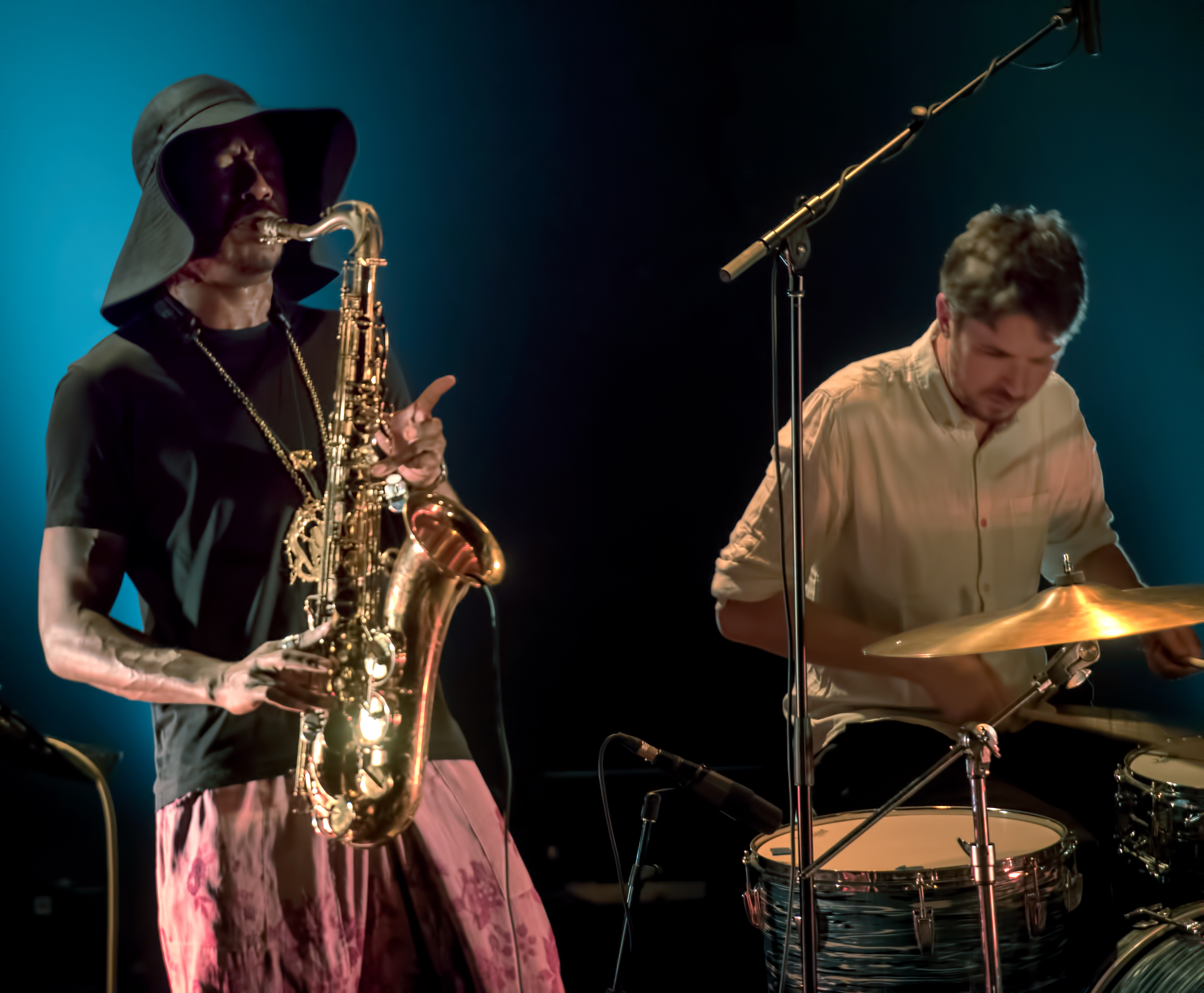 Shabaka Hutchings and Tom Skinner with the Sons of Kemet at The Montreal International Jazz Festival 2018