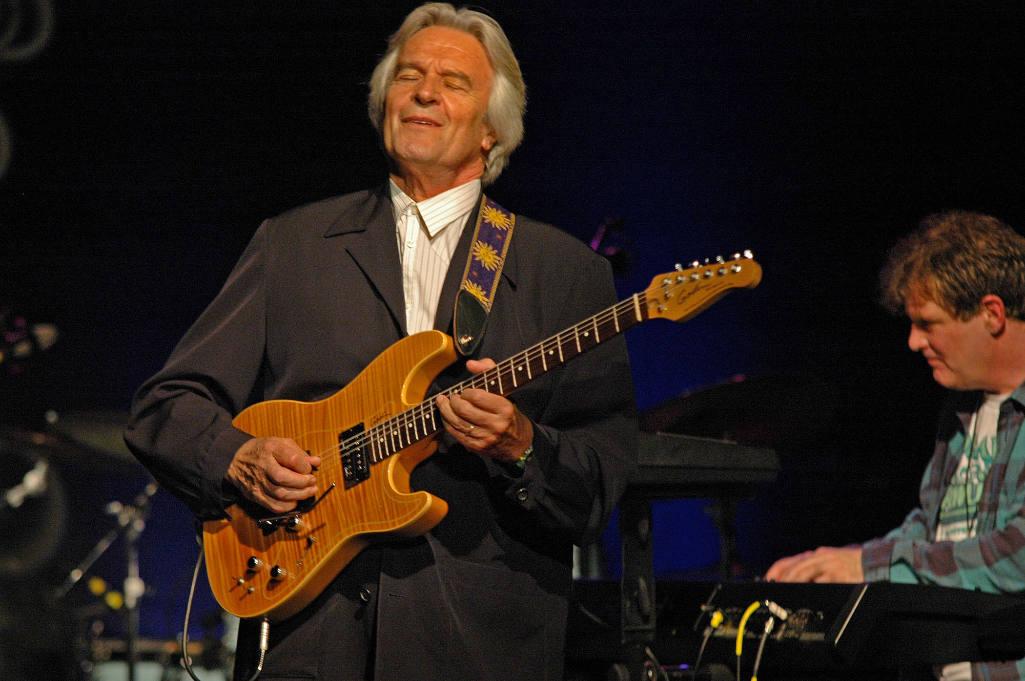 John McLaughlin and Gary Husband, Performing with the 4th Dimension at the 2010 New Universe Music Festival
