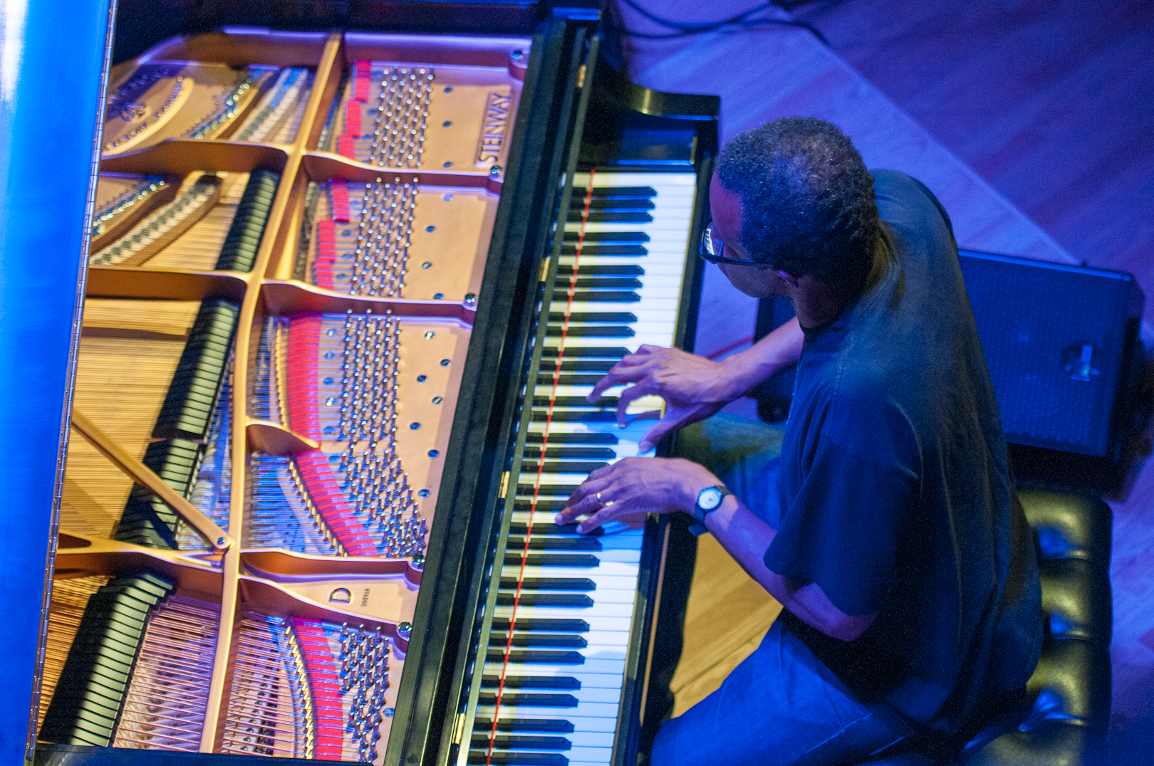 Matthew Shipp with Cleaver, Dunmall and Morris at the Vision Festival 2012