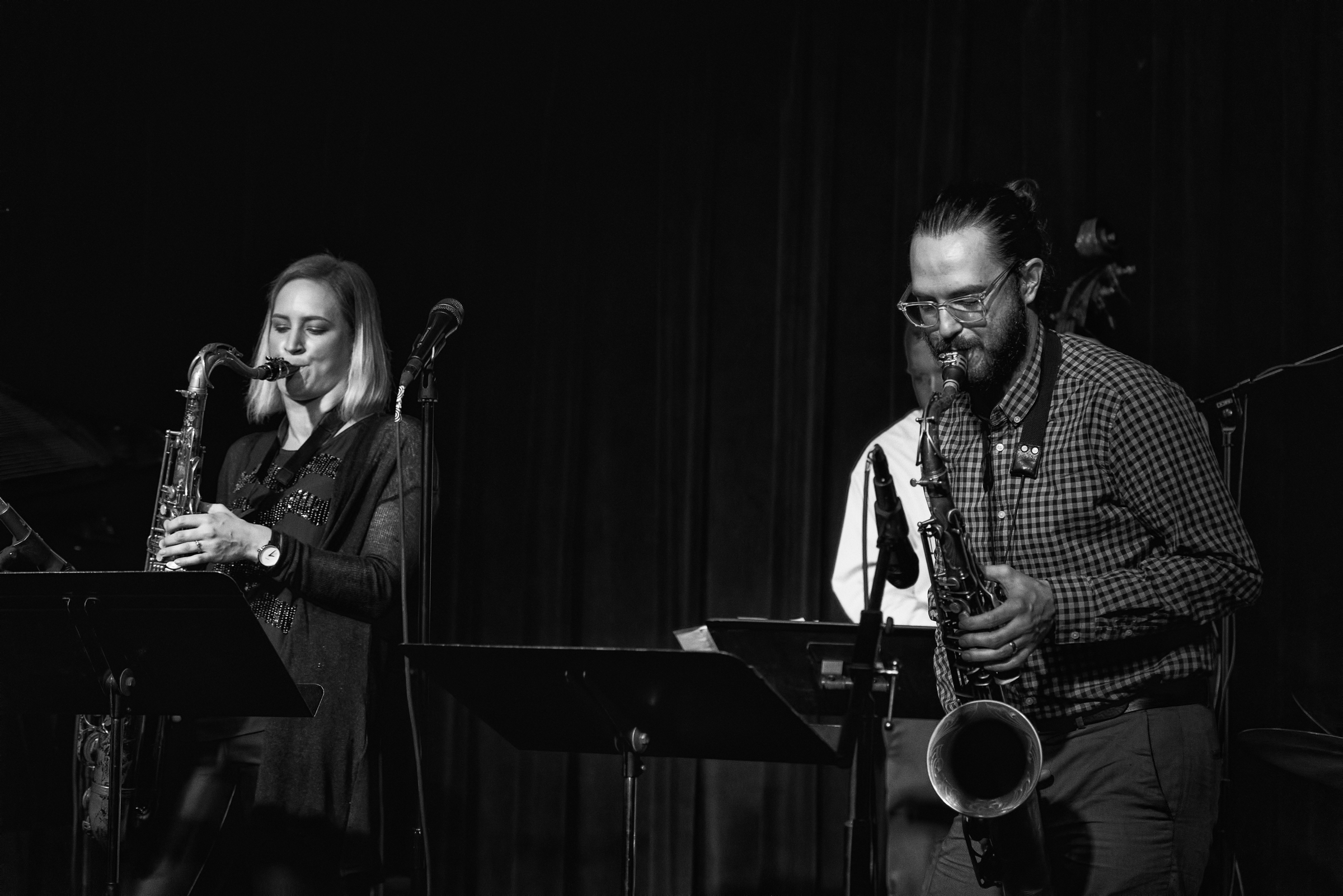 Roxy Coss And Lucas Pino At The Nash In Phoenix
