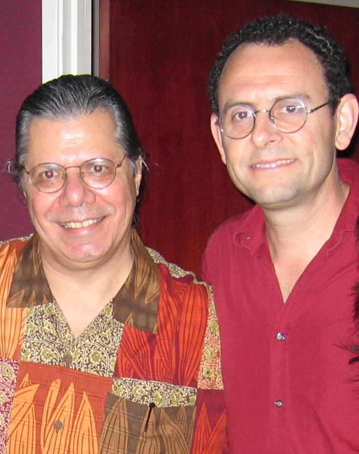 Francesco Crosara with Chick Corea, Los Angeles 2004