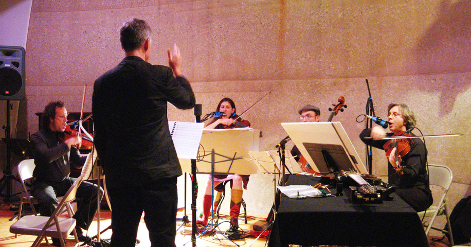 Nick Didkovsky and the Sirius String Quartet - Issue Project Room 2007